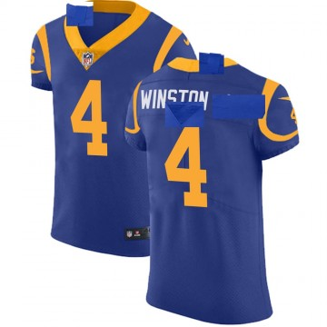 Men's Nike Los Angeles Rams Easop Winston Jr. Royal Alternate Vapor Untouchable Jersey - Elite