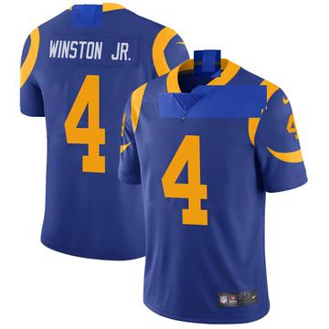 Men's Nike Los Angeles Rams Easop Winston Jr. Royal Alternate Vapor Untouchable Jersey - Limited
