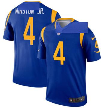 Men's Nike Los Angeles Rams Easop Winston Jr. Royal Jersey - Legend