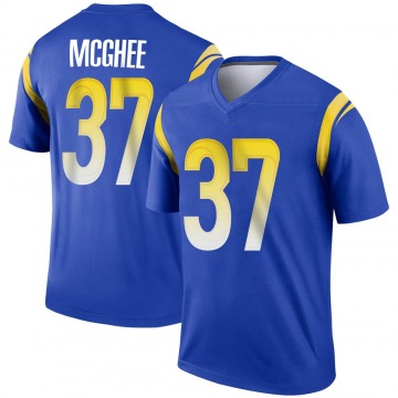 Men's Nike Los Angeles Rams Tyrique McGhee Royal Jersey - Legend