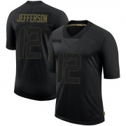 Men's Nike Los Angeles Rams Van Jefferson Black 2020 Salute To Service Jersey - Limited
