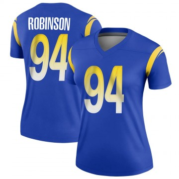 Women's Nike Los Angeles Rams A'Shawn Robinson Royal Jersey - Legend