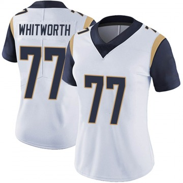 Women's Nike Los Angeles Rams Andrew Whitworth White Vapor Untouchable Jersey - Limited