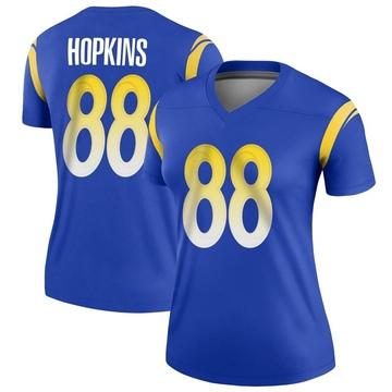 Women's Nike Los Angeles Rams Brycen Hopkins Royal Jersey - Legend