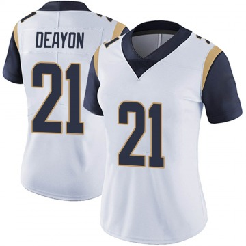 Women's Nike Los Angeles Rams Donte Deayon White Vapor Untouchable Jersey - Limited