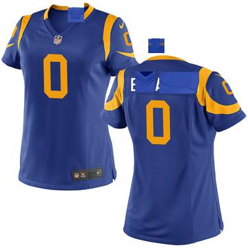 Women's Nike Los Angeles Rams Earnest Edwards Royal Alternate Jersey - Game