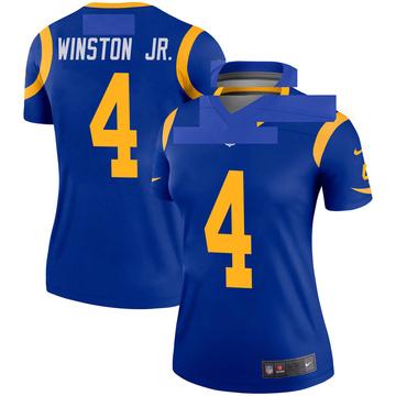 Women's Nike Los Angeles Rams Easop Winston Jr. Royal Jersey - Legend