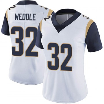 Women's Nike Los Angeles Rams Eric Weddle White Vapor Untouchable Jersey - Limited