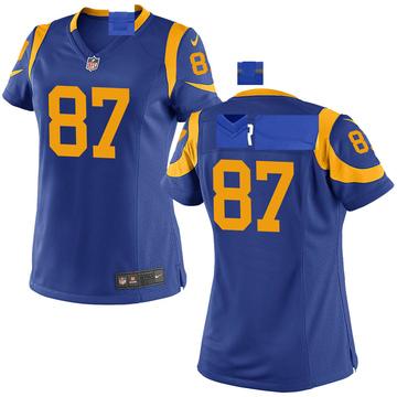 Women's Nike Los Angeles Rams Greg Dortch Royal Alternate Jersey - Game
