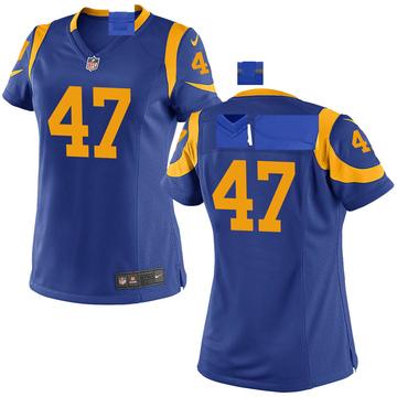 Women's Nike Los Angeles Rams Greg Reaves Royal Alternate Jersey - Game