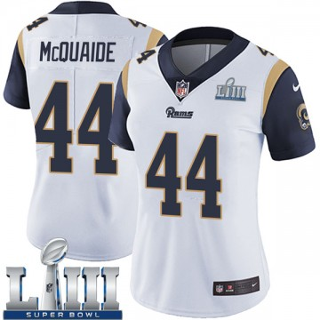 Women's Nike Los Angeles Rams Jake McQuaide White Super Bowl LIII Bound Vapor Untouchable Jersey - Limited