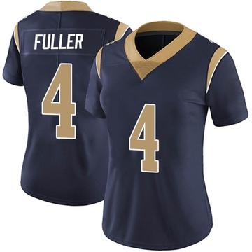 Women's Nike Los Angeles Rams Jordan Fuller Navy Team Color Vapor Untouchable Jersey - Limited