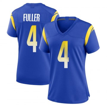 Women's Nike Los Angeles Rams Jordan Fuller Royal Alternate Jersey - Game