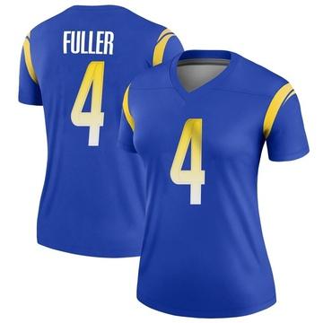 Women's Nike Los Angeles Rams Jordan Fuller Royal Jersey - Legend
