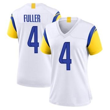 Women's Nike Los Angeles Rams Jordan Fuller White Jersey - Game