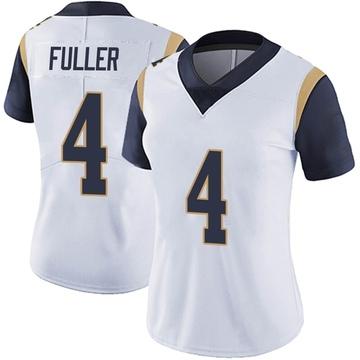 Women's Nike Los Angeles Rams Jordan Fuller White Vapor Untouchable Jersey - Limited