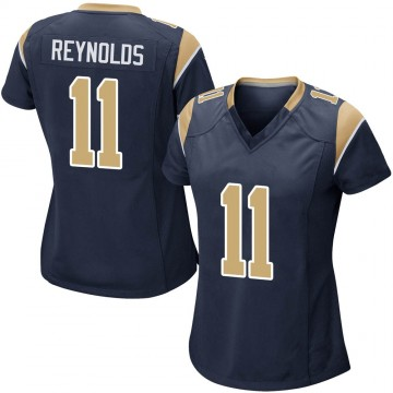 Women's Nike Los Angeles Rams Josh Reynolds Navy Team Color Jersey - Game
