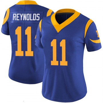 Women's Nike Los Angeles Rams Josh Reynolds Royal 100th Vapor Jersey - Limited