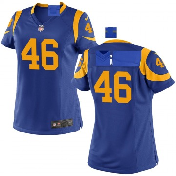 Women's Nike Los Angeles Rams Juju Hughes Royal Alternate Jersey - Game
