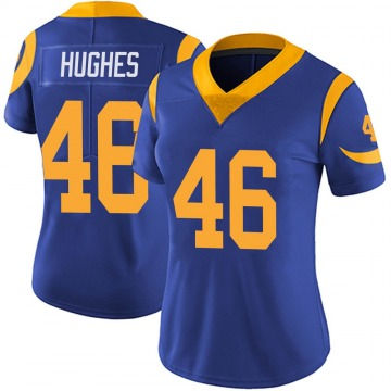 Women's Nike Los Angeles Rams Juju Hughes Royal Alternate Vapor Untouchable Jersey - Limited
