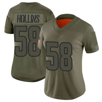 Women's Nike Los Angeles Rams Justin Hollins Camo 2019 Salute to Service Jersey - Limited