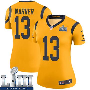 outlet store b879a d2a85 Kurt Warner Legend Jersey - Rams Store