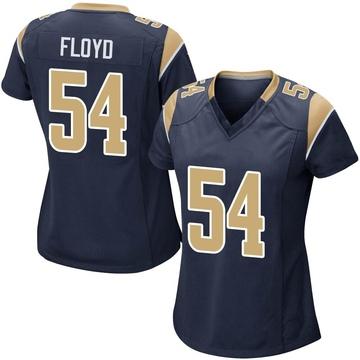 Women's Nike Los Angeles Rams Leonard Floyd Navy Team Color Jersey - Game
