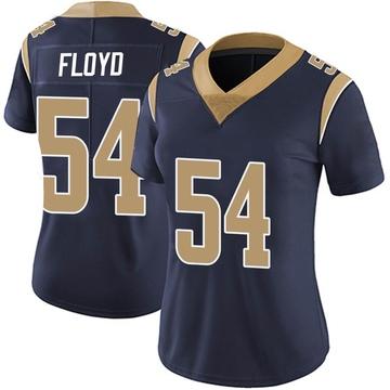 Women's Nike Los Angeles Rams Leonard Floyd Navy Team Color Vapor Untouchable Jersey - Limited