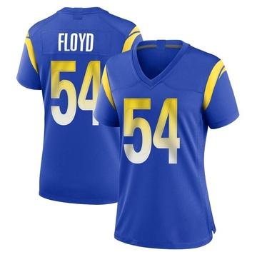 Women's Nike Los Angeles Rams Leonard Floyd Royal Alternate Jersey - Game