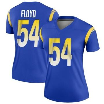 Women's Nike Los Angeles Rams Leonard Floyd Royal Jersey - Legend
