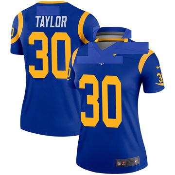 Women's Nike Los Angeles Rams Levonta Taylor Royal Jersey - Legend