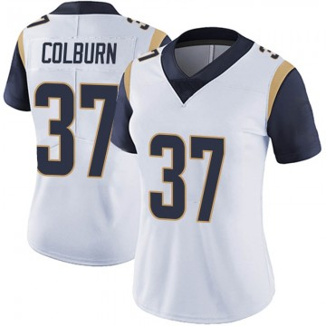 Women's Nike Los Angeles Rams Matt Colburn White Vapor Untouchable Jersey - Limited