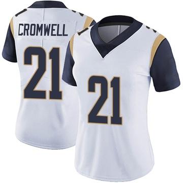 Women's Nike Los Angeles Rams Nolan Cromwell White Vapor Untouchable Jersey - Limited