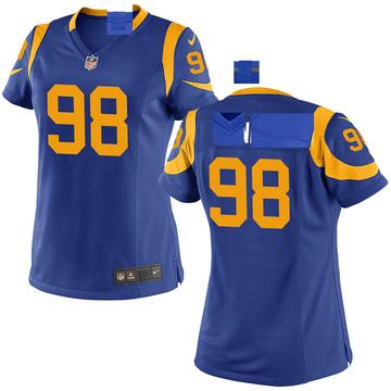 Women's Nike Los Angeles Rams Sam Renner Royal Alternate Jersey - Game
