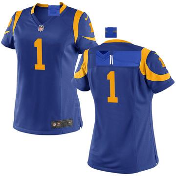 Women's Nike Los Angeles Rams Sam Sloman Royal Alternate Jersey - Game