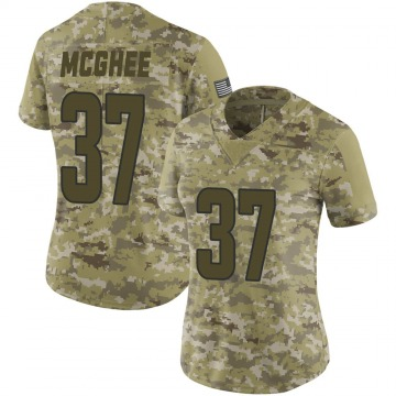 Women's Nike Los Angeles Rams Tyrique McGhee Camo 2018 Salute to Service Jersey - Limited