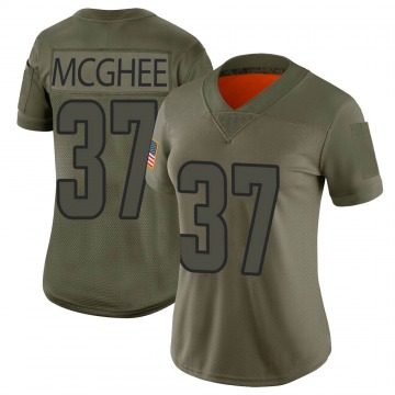 Women's Nike Los Angeles Rams Tyrique McGhee Camo 2019 Salute to Service Jersey - Limited