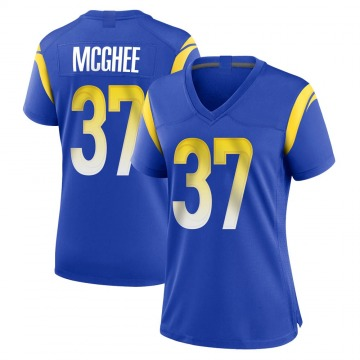 Women's Nike Los Angeles Rams Tyrique McGhee Royal Alternate Jersey - Game