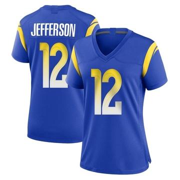 Women's Nike Los Angeles Rams Van Jefferson Royal Alternate Jersey - Game