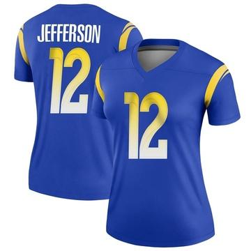 Women's Nike Los Angeles Rams Van Jefferson Royal Jersey - Legend