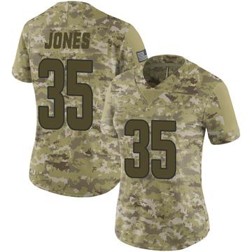 Women's Nike Los Angeles Rams Xavier Jones Camo 2018 Salute to Service Jersey - Limited