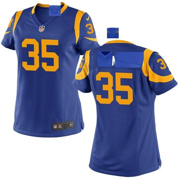 Women's Nike Los Angeles Rams Xavier Jones Royal Alternate Jersey - Game