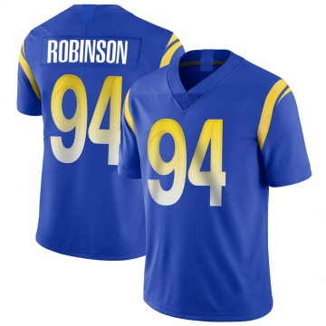 Youth Nike Los Angeles Rams A'Shawn Robinson Royal Alternate Vapor Untouchable Jersey - Limited