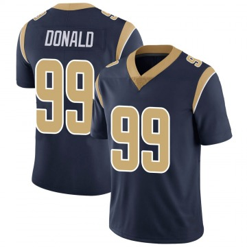 Youth Nike Los Angeles Rams Aaron Donald Navy Team Color Vapor Untouchable Jersey - Limited