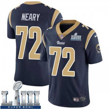 Youth Nike Los Angeles Rams Aaron Neary Navy Team Color Super Bowl LIII Bound Vapor Untouchable Jersey - Limited