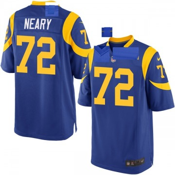 Youth Nike Los Angeles Rams Aaron Neary Royal Alternate Jersey - Game