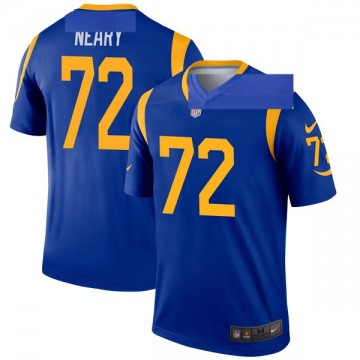 Youth Nike Los Angeles Rams Aaron Neary Royal Jersey - Legend