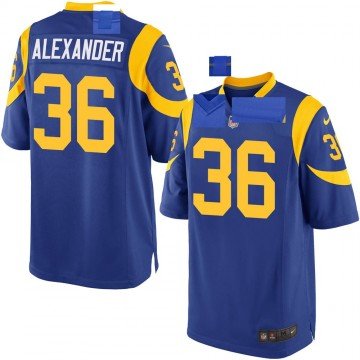 Youth Nike Los Angeles Rams Adonis Alexander Royal Alternate Jersey - Game