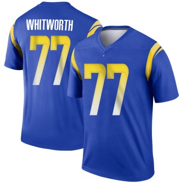 Youth Nike Los Angeles Rams Andrew Whitworth Royal Jersey - Legend