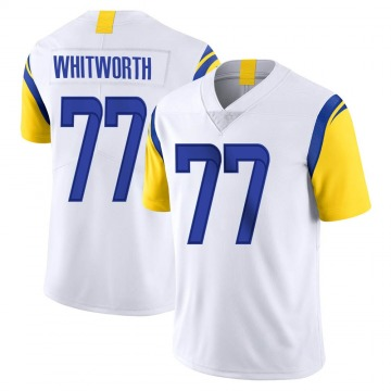 Youth Nike Los Angeles Rams Andrew Whitworth White Vapor Untouchable Jersey - Limited
